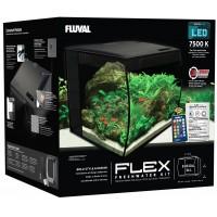 Fluval Flex Ενυδρείο Μαύρο 34lt