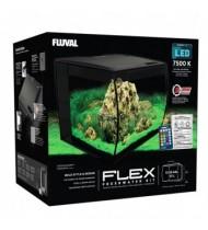 Fluval Flex Ενυδρείο Μαύρο 57lt